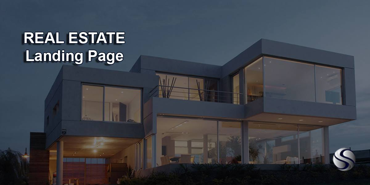 real estate landing page post